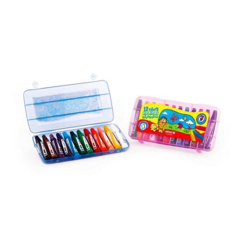 12رنگ کیفی 12 colour oil paster in bag 1