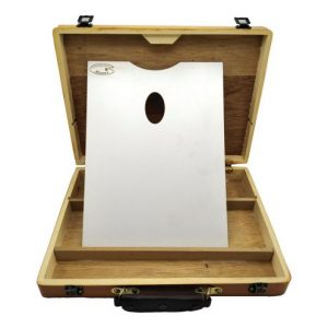 جعبه رنگ 1 طبقه چوبی به همراه پالت