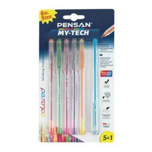 خودکار 6 رنگ پنسان