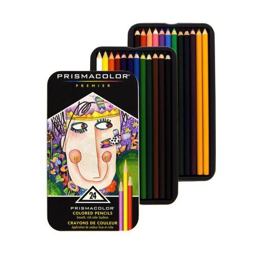 مداد رنگی 24 رنگ پریسما کالر