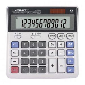 ماشین حساب رومیزی IN-1133 اینفینیتی