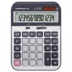 ماشین حساب رومیزی IN-1400 اینفینیتی