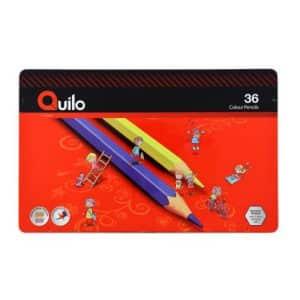 مداد رنگی 36 رنگ فلزی کویلو
