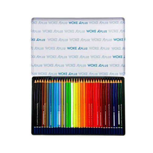 مداد رنگی 36 رنگ فلزی ووک