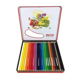 مداد رنگی 24 رنگ فلزی فکتیس