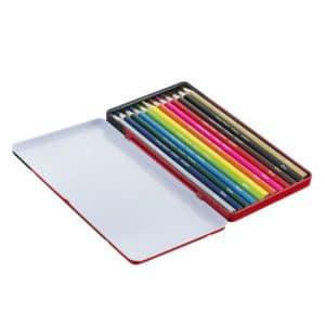 مداد رنگی 12 رنگ فلزی کویلو