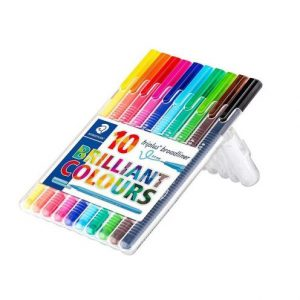 ماژیک 10 رنگ تریپلاس استدلر