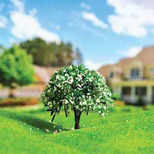 درخت شکوفه سبز 5/5cm اشل