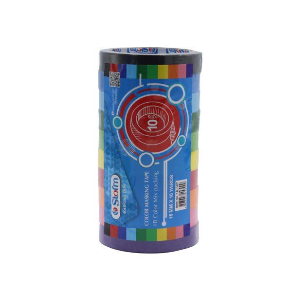 چسب پارچه ای رنگی HL-167 استورم
