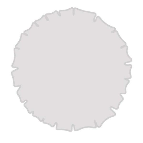 قالب سیلیکون سینی دالبری لبه تیز کوچک T257