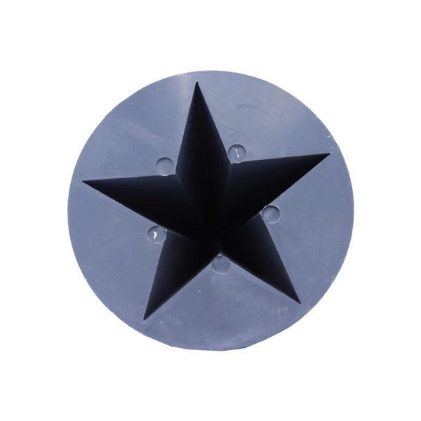 قالب شمع ستاره پلاستیکی