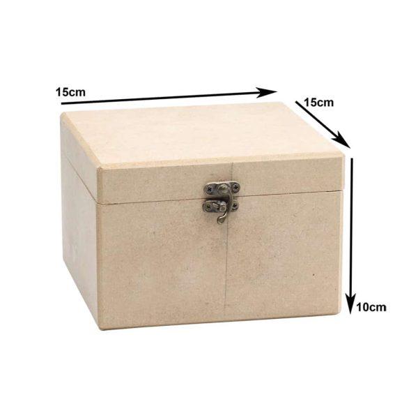 جعبه چوبی مربع کادنس 62/2